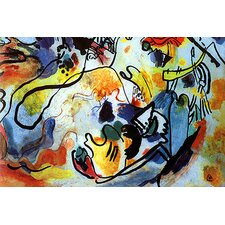 """The Last Judgment"" Canvas Wall Art by Wassily Kandinsky Prints"