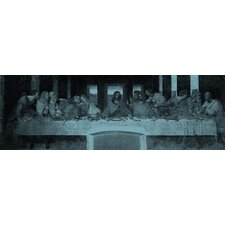 """The Last Supper III"" Panoramic Canvas Wall Art by Leonardo Da Vinci"