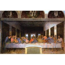 """The Last Supper"" Canvas Wall Art by Leonardo Da Vinci"
