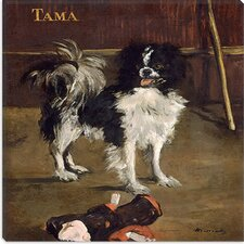 """Tama (The Japanese Dog)"" Canvas Wall Art by Pierre-Auguste Renoir"