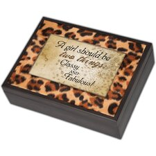 Digital Two Things Leopard Music Box