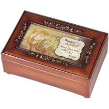 <strong>Cottage Garden</strong> Petite Rose Mom You Are Loved Music Box