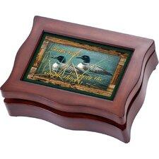 Wildlife Digital Ducks Music Jewelry Box