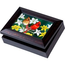 Wildlife Digital Music Cardinals Jewelry Box