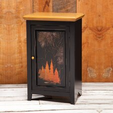 Pine Retreat 1 Door Cabinet