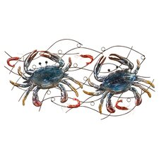 Crab and Shrimp Wall Decor