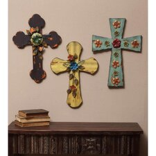 3 Piece Crossed Wall Décor Set