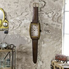 Metal Wall Watch Band Clock
