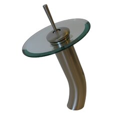 <strong>Novatto</strong> Aqua Single Lever Deck Mount Waterfall Vessel Faucet