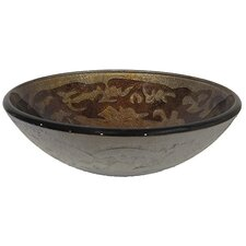 Brina Round Glass Vessel Sink