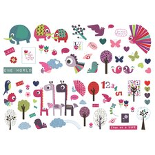 Animal Sanctuary Wall Stickers