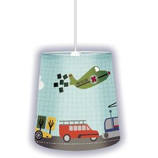"12"" Transportation Lamp Shade"