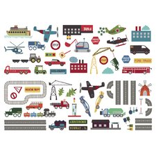 Transportation Wall Stickers