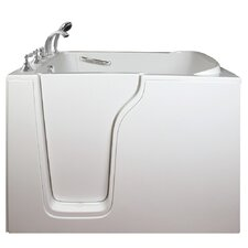 "Economy 55"" x 35"" Air Massage Walk-In Bathtub"