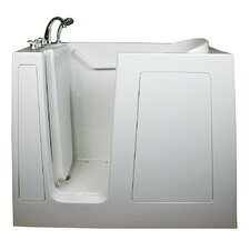 "Deep 55"" x 35"" High Air Massage Walk-In Bathtub"