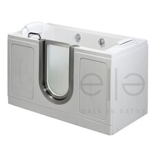 "<strong>Ella Walk In Baths</strong> 60"" x 30"" Companion Soaking Walk In Tub"