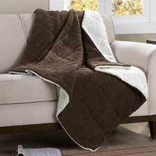 Jackson Corduroy Polyester Throw