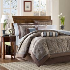 Madison Park Aubrey 6 Piece Jacquard Duvet Set