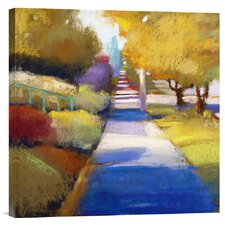 'Afternoon' by Lou Wall Painting Print on Canvas
