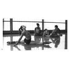 'Ballet dancers at rehearsal (detail)' by Moodboard Studio Photographic Print on Canvas