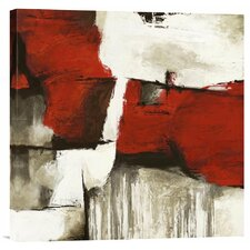 'Continuum I' by Jim Stone Painting Print on Canvas