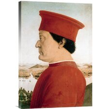 'Duke of Urbino' by Piero della Francesca Painting Print on Canvas