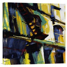 'Storefront' by Patti Mollica Painting Print on Canvas