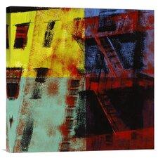 'Multicolored Escapes' by Patti Mollica Painting Print on Canvas