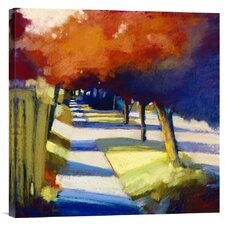 'Thunderclouds' by Lou Wall Painting Print on Canvas