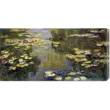 <strong>Bentley Global Arts</strong> 'The Basin of Water Lilies (Le Bassin aux Nymphaeas)' by Claude Monet Stretched Canvas Art