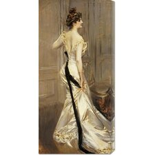 'The Black Sash' by Giovanni Boldini Painting Print on Canvas