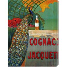 <strong>Bentley Global Arts</strong> 'Cognac Jacquet' by F. Bouchet Stretched Canvas Art
