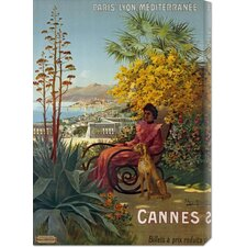 <strong>Bentley Global Arts</strong> 'Cannes, P.L.M' by Hugo d'Alesi Stretched Canvas Art