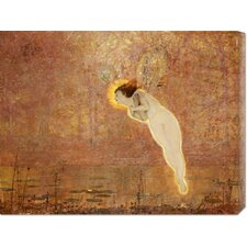 'Iris' by John Atkinson Grimshaw Stretched Canvas Art