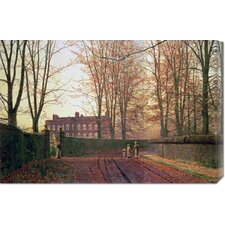 <strong>Bentley Global Arts</strong> 'Going To Church' by John Atkinson Grimshaw Stretched Canvas Art