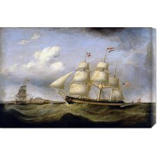 <strong>Bentley Global Arts</strong> 'Hark Away' by Samuel Walters Stretched Canvas Art