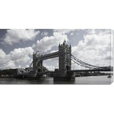<strong>Bentley Global Arts</strong> 'Tower Bridge, London' by Derek James Seaward Stretched Canvas Art