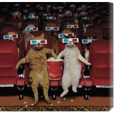 <strong>Bentley Global Arts</strong> '3-D Movie' by John Lund Stretched Canvas Art