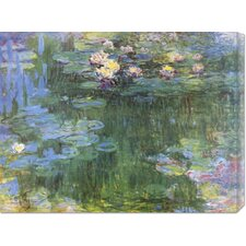 'Waterlilies 1916 (3)' by Claude Monet Painting Print on Canvas