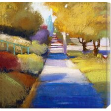 <strong>Bentley Global Arts</strong> 'Afternoon' by Lou Wall Stretched Canvas Art
