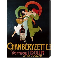 'Chamberyzette' Vintage Advertisement on Canvas