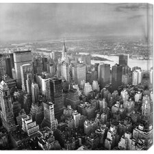 'New York Skyline' Stretched Canvas Art