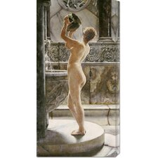 'The Bath' by John Reinhard Weguelin Painting Print on Canvas