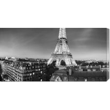 <strong>Bentley Global Arts</strong> 'The Eiffel Tower and Surrounding Buildings' by Paul Hardy Stretched Canvas Art