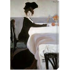 <strong>Bentley Global Arts</strong> 'Breakfast' by Leon Bakst Stretched Canvas Art