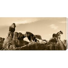 <strong>Bentley Global Arts</strong> 'Brotherhood' by Marc Moreau Stretched Canvas Art