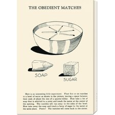 <strong>Bentley Global Arts</strong> 'The Obedient Matches' by Retromagic Stretched Canvas Art
