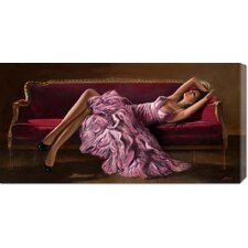 <strong>Bentley Global Arts</strong> 'Jasmine' by John Silver Stretched Canvas Art