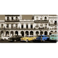 'Havana, Cuba' by Gavin Hellier Stretched Canvas Art