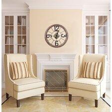 "Oversized 25"" Caravita Wall Clock"